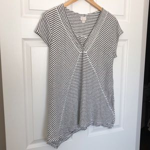 Striped top from Anthropologie